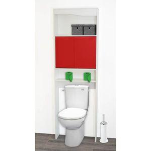 meuble wc achat vente meuble wc pas cher cdiscount. Black Bedroom Furniture Sets. Home Design Ideas