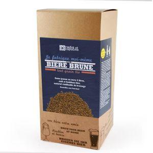 BIÈRE Coffret brassage tout grain 5L Bière brune bio 38,