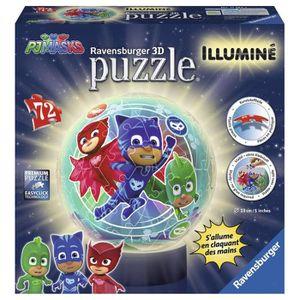PUZZLE LES PYJAMASQUES Puzzle 3D 72 pcs Illuminé