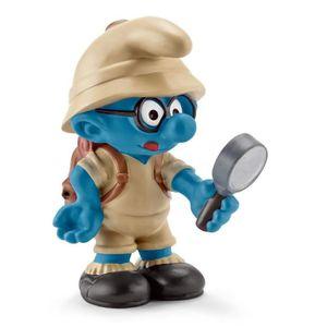 FIGURINE - PERSONNAGE SCHLEICH 20778 Figurine Schtroumpf À Lunettes De L