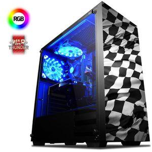 UNITÉ CENTRALE  VIBOX Hawk 13 PC Gamer Ordinateur avec War Thunder