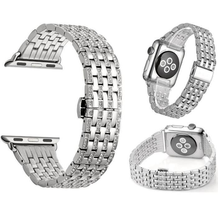 Argent 20mm Hommes Watch2 Huawei De Montre Des Luxe Pour Bracelet 3jc54ARLq