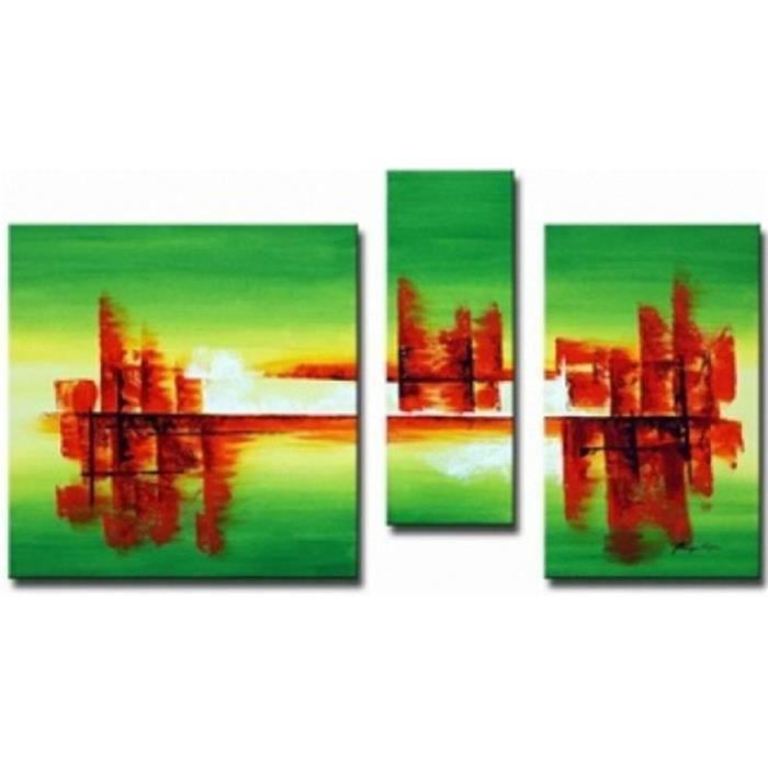 Triptyque Moderne Tableau Toile Tableau Triptyque Déco Mur Tableux