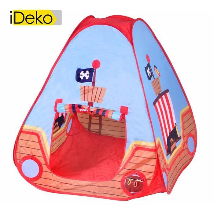 iDeko®Tente pop-up pour enfant motif pirate - Prix pas cher - Cdiscount