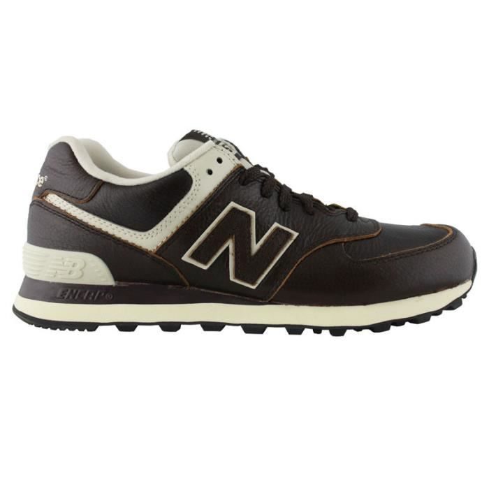 New Balance Sneakers Homme Marrone Scuro Z7eNvqEpD