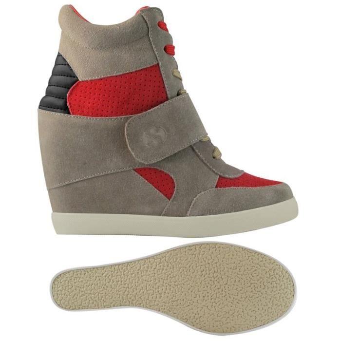 Sneakers 4489-SUEW pour femme, style classique, multicolore