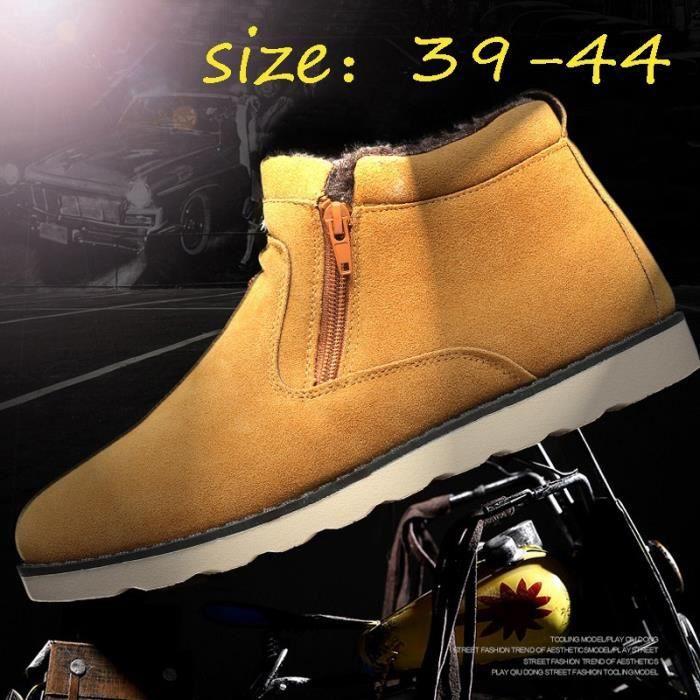Chaussures Bottes Design Mode hiver courtes chaudes Bottes homme Gardez New Produit neige chaussures Wx0W6Pnq