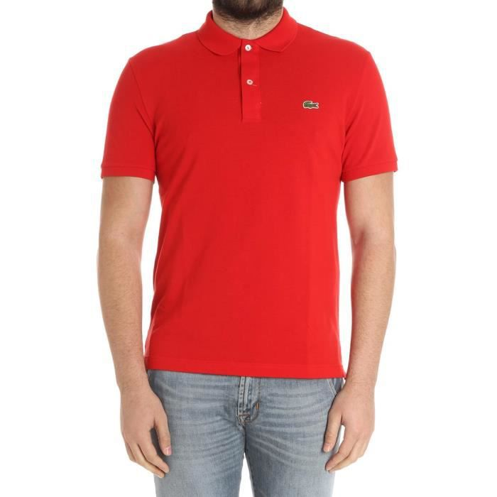Polo Ph4012240 Homme Coton Rouge Lacoste xhCtrQds