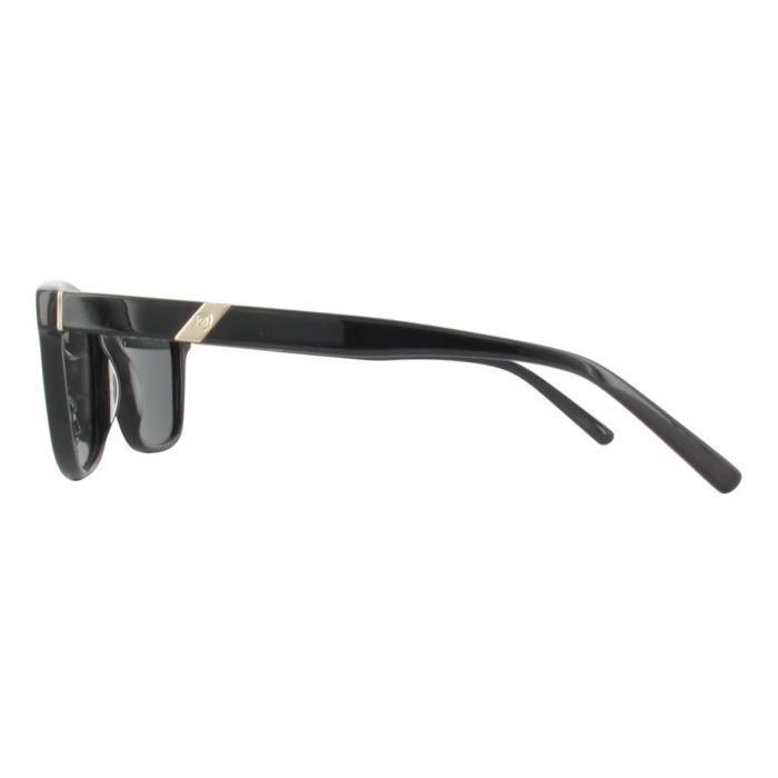 sélectionner pour dernier produits de commodité haut de gamme authentique Lunettes de soleil homme S.T. DUPONT ST034 Black Gold Gray ...