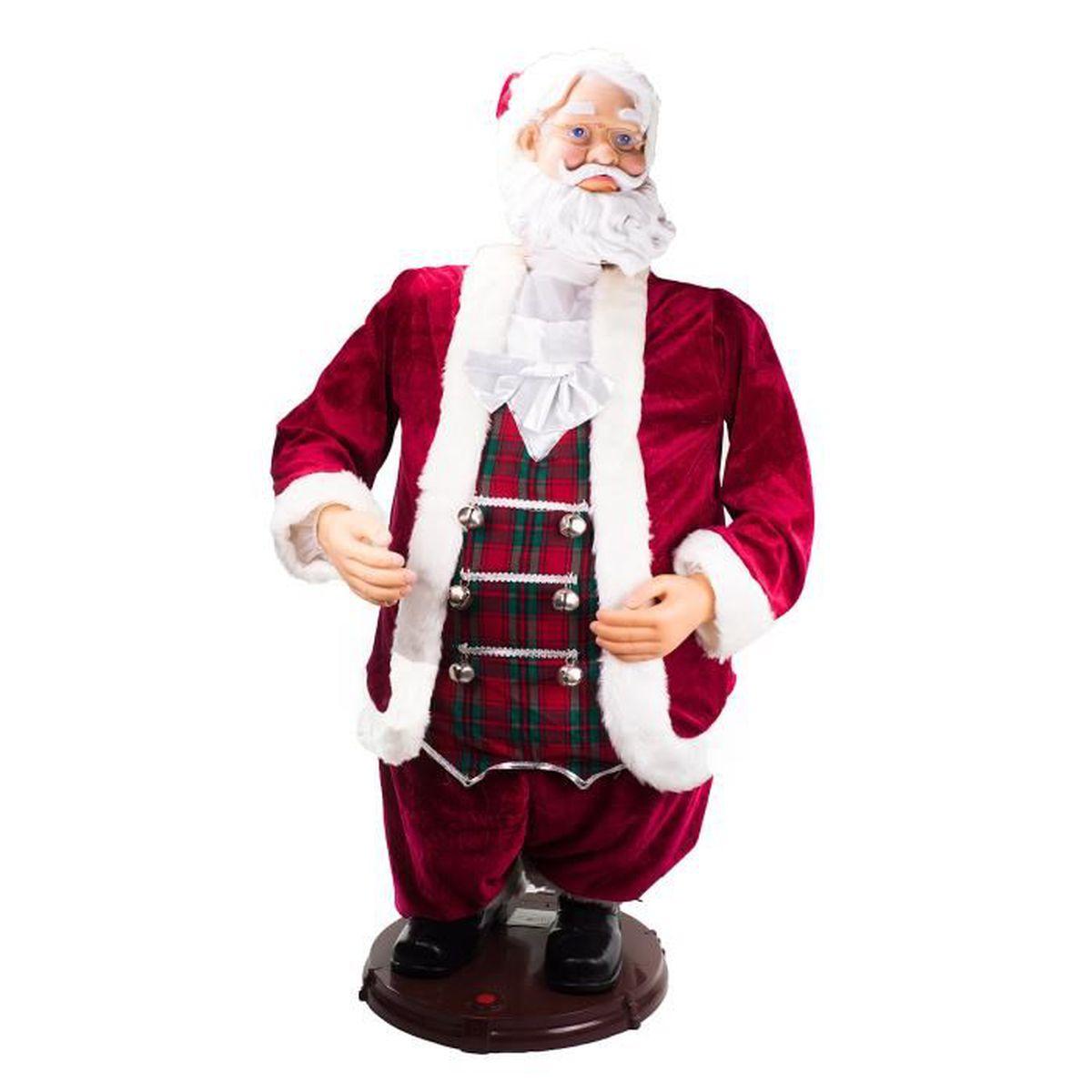 PERSONNAGES ET ANIMAUX Père Noël Musical