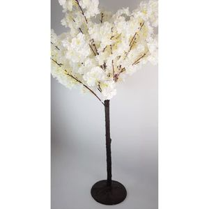 DÉCORATION DE TABLE Arbre Cerisier Blanc - 1M - Tronc Marron
