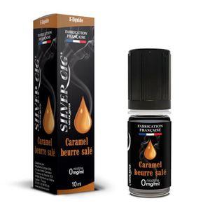 LIQUIDE E-liquide SilverCig Caramel Beurre Salé 0 mg E-liq