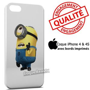 COQUE - BUMPER Coque iPhone 4 & 4S Minion 6