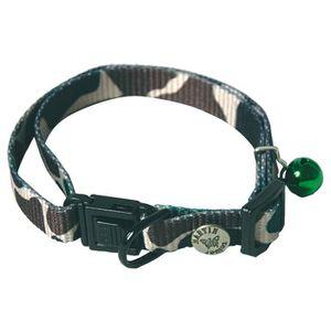COLLIER Collier Réglable en Nylon Camouflage Militaire de