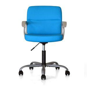 CHAISE DE BUREAU Chaise de bureau pivotante Pure Design MIXER - Ble