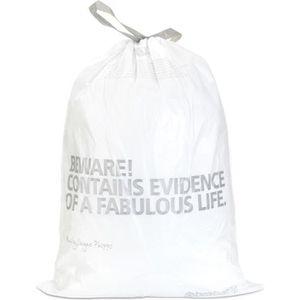 POUBELLE - CORBEILLE BRABANTIA Sacs poubelles 50-60 L blanc
