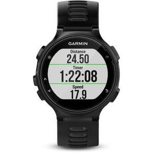 CARDIOFRÉQUENCEMÈTRE GARMIN Forerunner 735XT Montre Cardio GPS - Noir/G