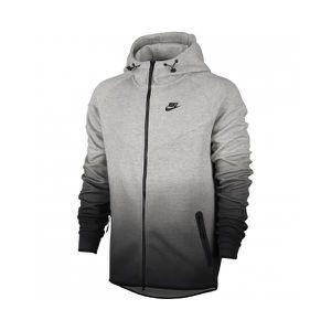 Sweat   Pull Nike Tech Fleece Fade Windrunner Gris Gris - Achat ... 141092bd1d1a