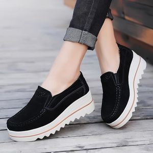 MOCASSIN Femmes Flats Muffin Chaussures Sneakers Chaussures