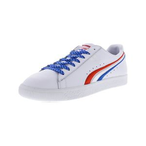 DERBY PUMA Men's Clyde 4Th Of July High Risk Red - Royal