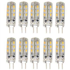 AMPOULE - LED 10pcs à économie d'énergie G4 DC 12V 1.5 W 24 3014
