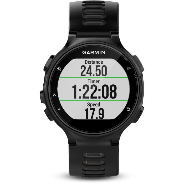 GARMIN Montre GPS Forerunner 735XT - 5 ATM - Mixte