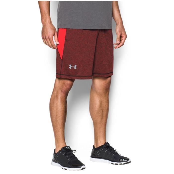 UNDER ARMOUR Short Raid Novelty - Homme - Rouge