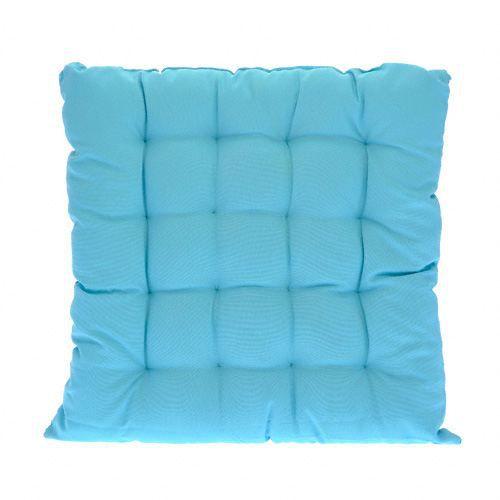 COUSSIN DE CHAISE Assise De Chaise Essentiel Turquoise 40x40cm