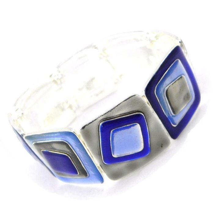 Bracelet Créateur Les Acidulés bleu