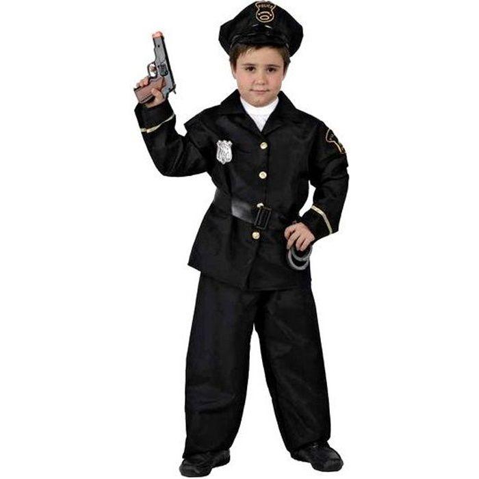 Déguisement Policier garçon 10-14 ans - Achat   Vente déguisement ... 5d66a82facab
