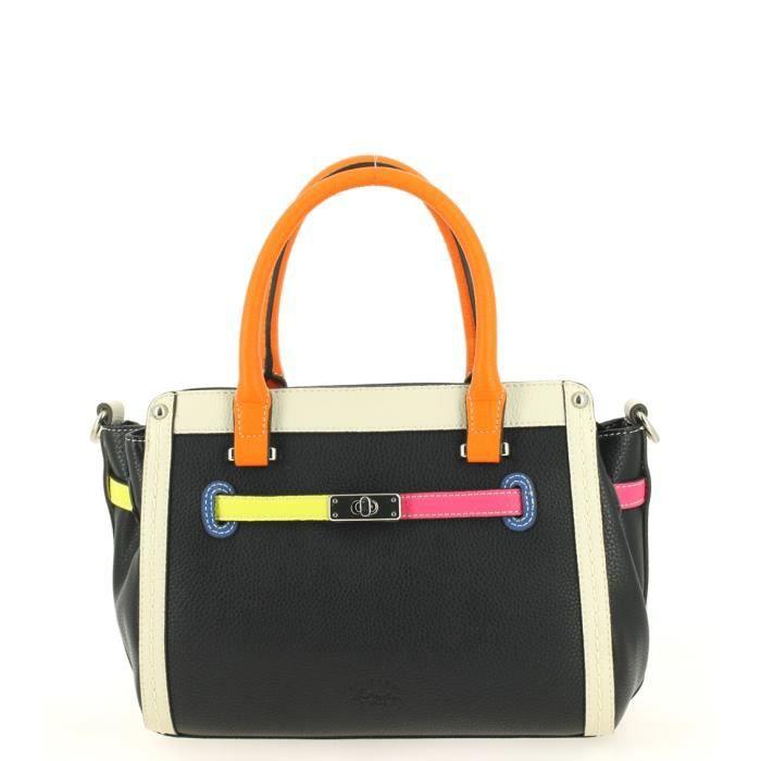 Sac à main Francinel Style Noir Multi 27,0 (L) x 20,0 (H) x 13,0 (E) cm