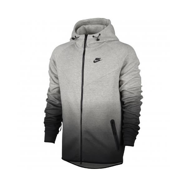 taille 40 ccb22 f82a2 Sweat / Pull Nike Tech Fleece Fade Windrunner Gris - Achat ...
