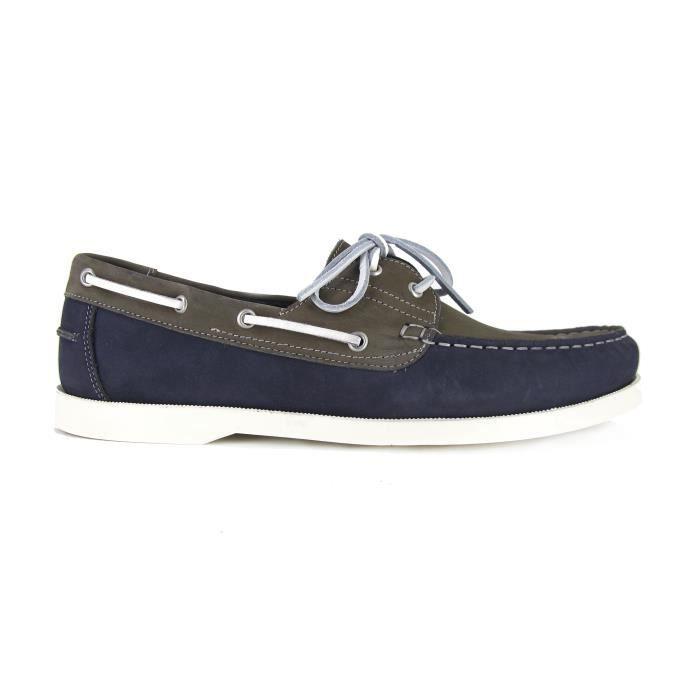 PIERRE CARDIN Chaussures Bateaux PC1605BO Gris - Couleur - Gris
