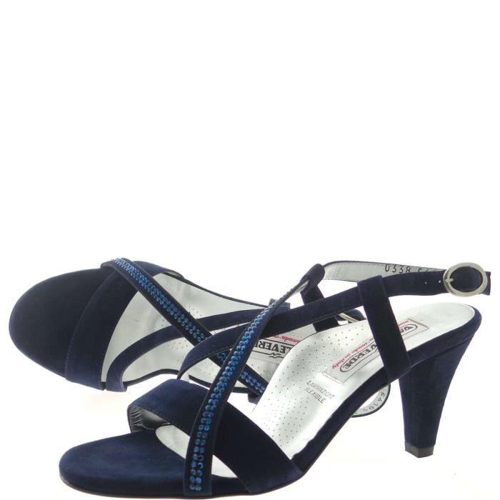 Valleverde Jewel Sandal Femme Blue, 40