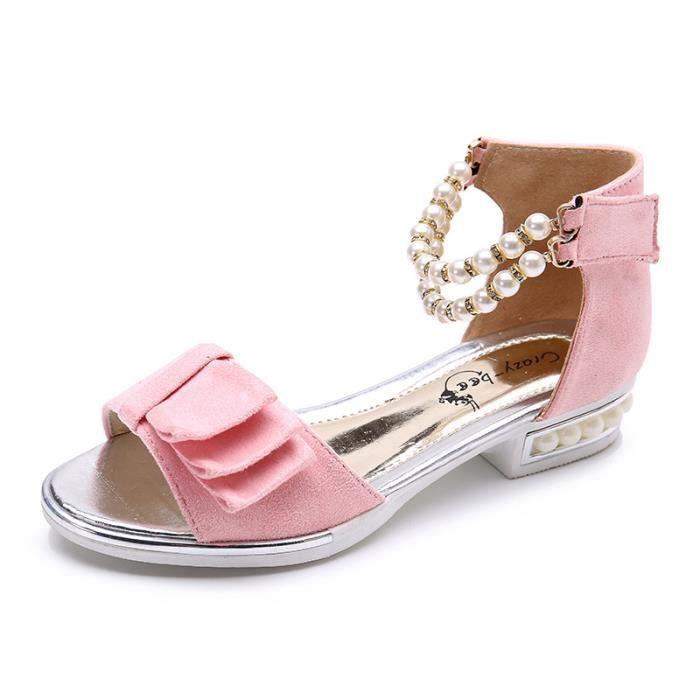 e9a737d8d16c0 Sandales d été 2018 pour enfants ouvert orteils creux chaussures ...