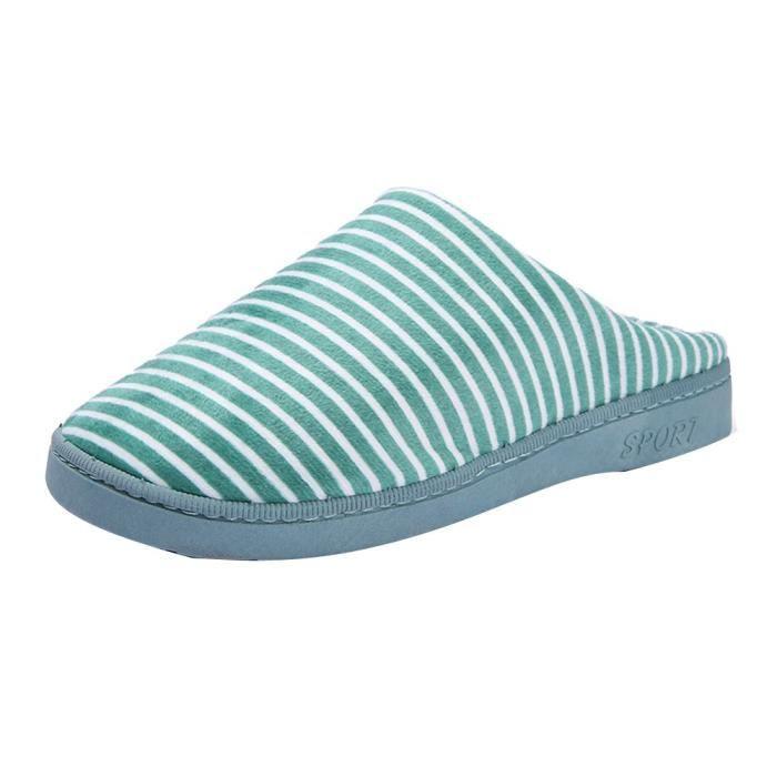 Slip nn Extérieur Anti Skid Intérieur Chaussons Pantoufles 10119 Veberge Maison Femmes Coton Chaussures c6SOYgwcq