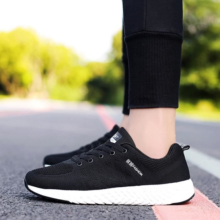 Chaussures Homme Comfortable Noir Sneakers Baskets ZZ1nw5rxqH