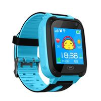 MONTRE CONNECTÉE V6 SOS Position Call LBS Locator Support Camera SI