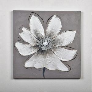 TABLEAU - TOILE Tableau déco Fleurs  133 -  Toile peinte à la main