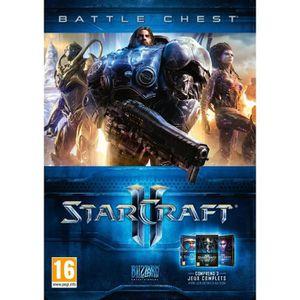 JEU PC Battlechest Trilogie Starcraft II Jeu PC