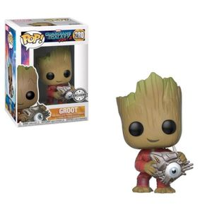 FIGURINE - PERSONNAGE Figurine POP Marvel - Groot w/ Cyber Eye