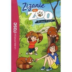 HOUSSE DE COUSSIN Zizanie au zoo Tome 3 : Un amour de panda
