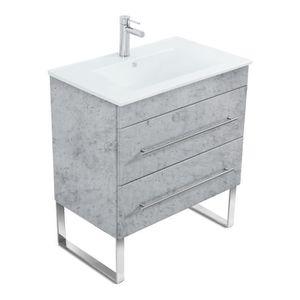 Lavabo 1 vasque 2 robinet - Achat / Vente pas cher