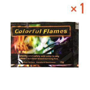 CHEMINÉE 1 paquets mystérieux feu campfire cheminée coloran