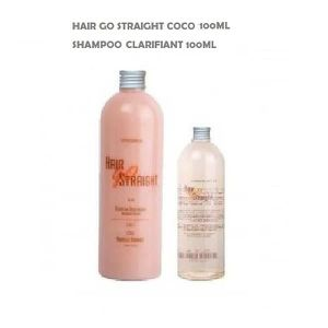 DÉFRISAGE - LISSAGE LISSAGE BRESILIEN HAIR GO STRAIGHT COCO KIT 100ML