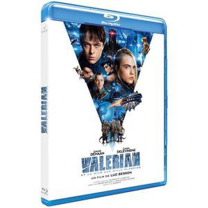 BLU-RAY FILM valerian  et la cité des milles planetes blu ray 2