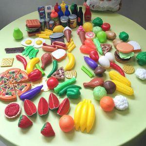 DINETTE - CUISINE 120pcs jouet imitation cuisine, Jouet cuisine enfa