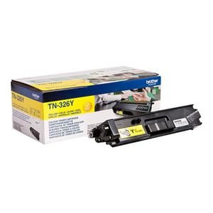 TONER toner compatible TN326Y yellow pour Brother Hll825