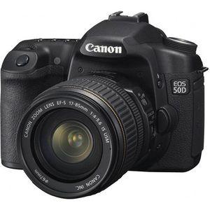 APPAREIL PHOTO RÉFLEX Canon EOS 50D + EF-S 17-85 IS