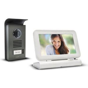 INTERPHONE - VISIOPHONE EXTEL Visiophone couleur sans fil avec écran tacti